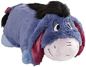 disney authentic eeyore pillow pet eeyore from winnie the pooh stuffed plush toy. Black Bedroom Furniture Sets. Home Design Ideas