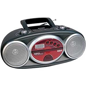 Amazon.com: RCA RCD029 Portable CD Boombox with AM/FM