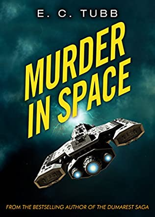 book cover of Murder in Space