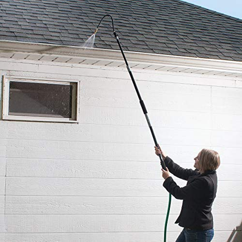 Retractable Gutter Cleaner Telescopic Wand Tool Flexible House Cleaning Tool New