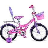 Hero Disney 16T Princess Junior Cycle with Carrier, Girl's (Capri Pink)