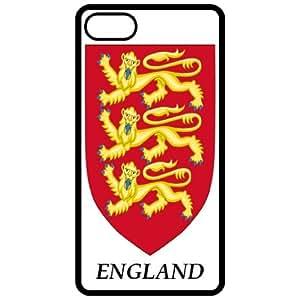 England - Coat Of Arms Flag Emblem Black Apple Iphone 5 Cell Phone Case - Cover wangjiang maoyi