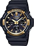 Casio GAS100G-1A G-Shock Tough Solar Men's Watch Black 55.1mm Resin/Aluminum case
