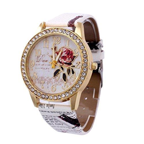 SMTSMT+Women%27s+Analog+Quartz+Business+Wrist+Watch-Beige