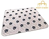 AdamTrader Washable Pet Pee Training & Whelping Pad (XLarge 28 x 32 Inches) comfortable, reusable and waterproof for your favorite pet