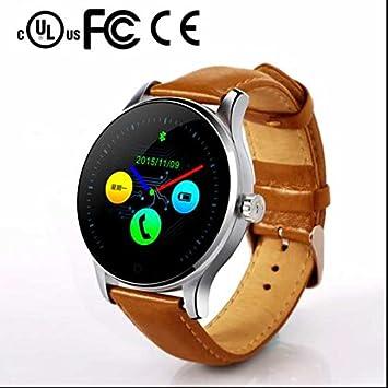 Bluetooth SmartWatch con cámara, LCD, pantalla táctil ...