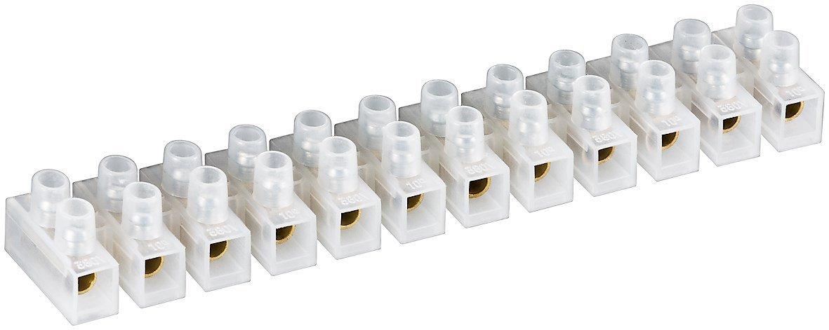 Fixpoint 77008 Lü sterklemme, 10 A, 10 mm² , Transparent 07077008WA