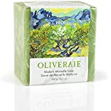 Pre de Provence  Oliveraie Olive Tree Collection with Vitamin E and Antioxidants 300 Gram Modern Marseille Soap