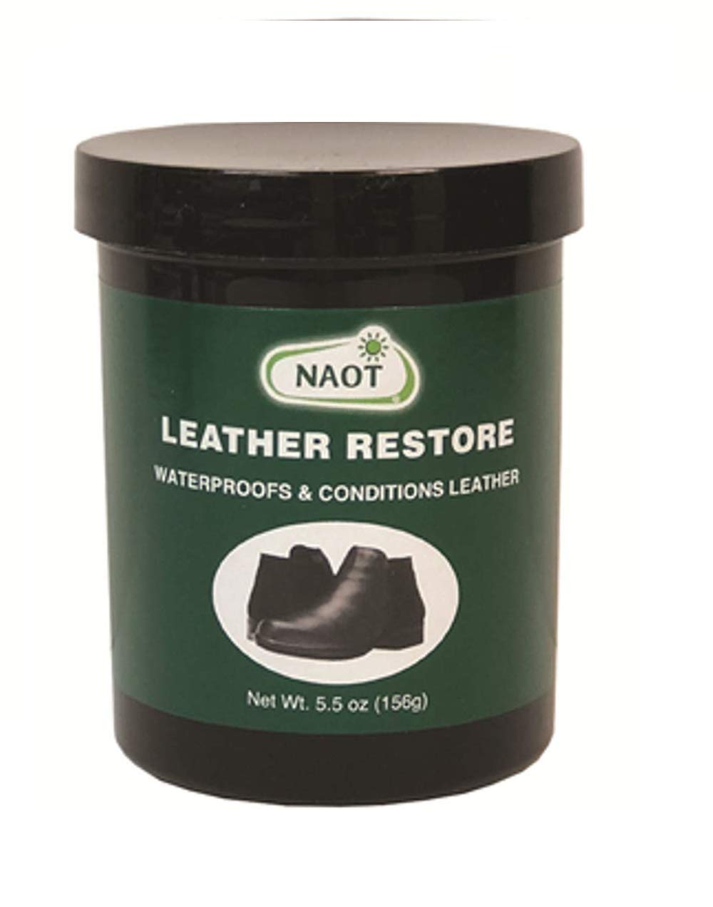 Naot Unisex Leather Restore Shoe Care, Black, OS