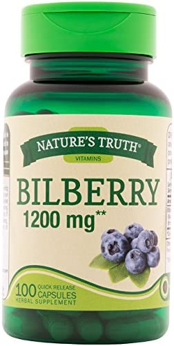Natures Truth Bilberry 1200 Capsules product image