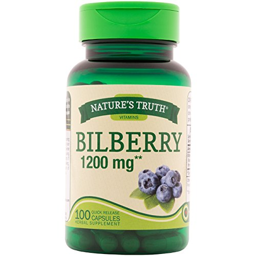 Nature's Truth New Bilberry 1200 mg 100 Capsules Review