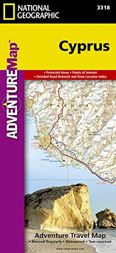 Cyprus (National Geographic Adventure Map)
