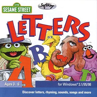 Sesame Street Letters Amazon Software