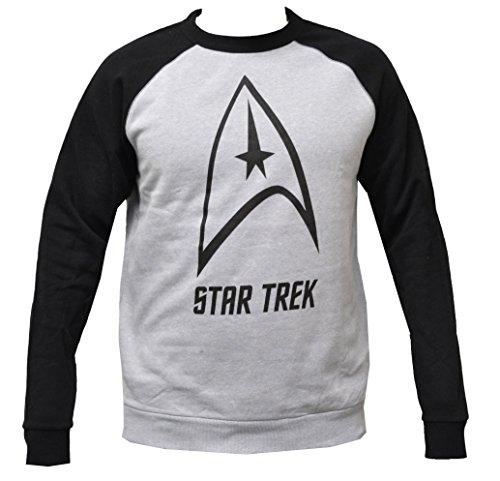 Star Trek Graphic Logo Men's Pullover Sweatshirt (Star Trek Xl)