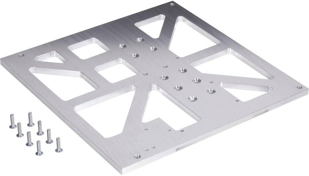Renkforce Untertisch Alu 8 mm f/ür Fr/äsumbau RF1000 Passend f/ür renkforce RF1000