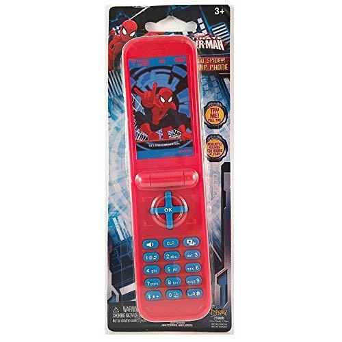 Ultimate Spider-man Go Spidey! Flip Phone