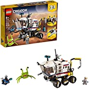 LEGO Creator 3in1 Space Rover Explorer 31107 Building Toy for Kids Who Love Imaginative Play, Space and Explor