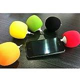 Raxus(TM) Mini Balloon Music Speaker for iPad/ iPhone /iPod /Samsung/cellphone [ Black ]