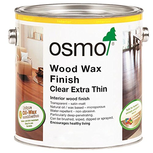 Osmo Wood Wax Finish Extra Thin - 1101 Clear - .75 Liter ()
