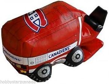 Nhl Montreal Canadiens 6 Vinyl Zamboni Vehicles Trains Remote