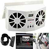 Creative Car Cooling Down Fan,Efaster Practical Solar Powered...