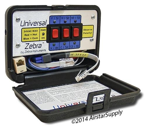 Zebra Instruments , # UZ-1 / UZ1 Universal Zebra - Basic ECM Motor Testing and Troubleshooting by Zebra Instruments (Image #1)
