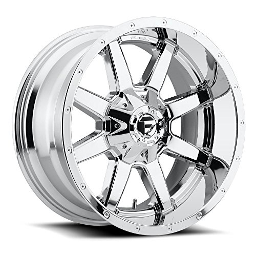 FUEL Maverick P -Chrome Wheel with Painted (22 x 9. inches /6 x 135 mm, -44 mm Offset)