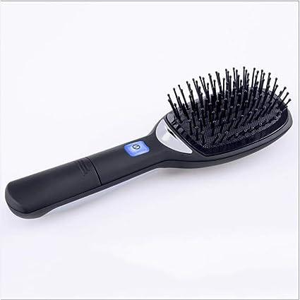 Beauty AGL Plancha de Pelo Cepillo Portátil Sin Cable Eléctrico Calentado Enderezar Peine Profesional Herramienta de