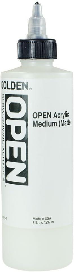 Golden OPEN Acrylic Matte Medium  227 gr
