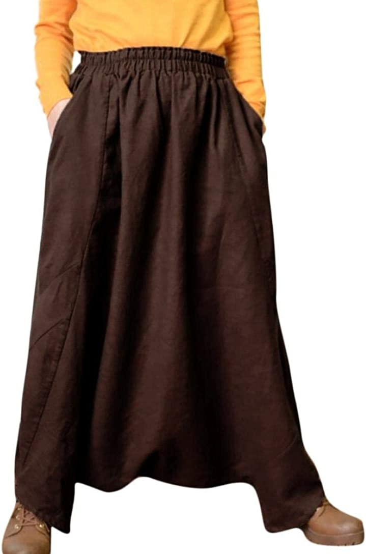 Mens Harem Pants Cotton Linen Festival Baggy Boho Trousers Retro Gypsy Pants