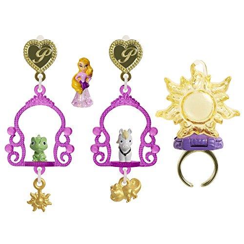 [Disney Princess Rapunzel Little Kingdom Mix & Match Jewelry Set (9 Piece)] (Little Miss Princess Costume)