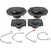 1988-1989 Chevrolet S-10 Blazer Complete Premium Factory Replacement Speaker Package by Skar Audio