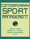 Contemporary Sport Management, , 0873228367
