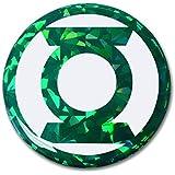 Green Lantern Reflective 3D Decal Domed Auto Sticker Emblem