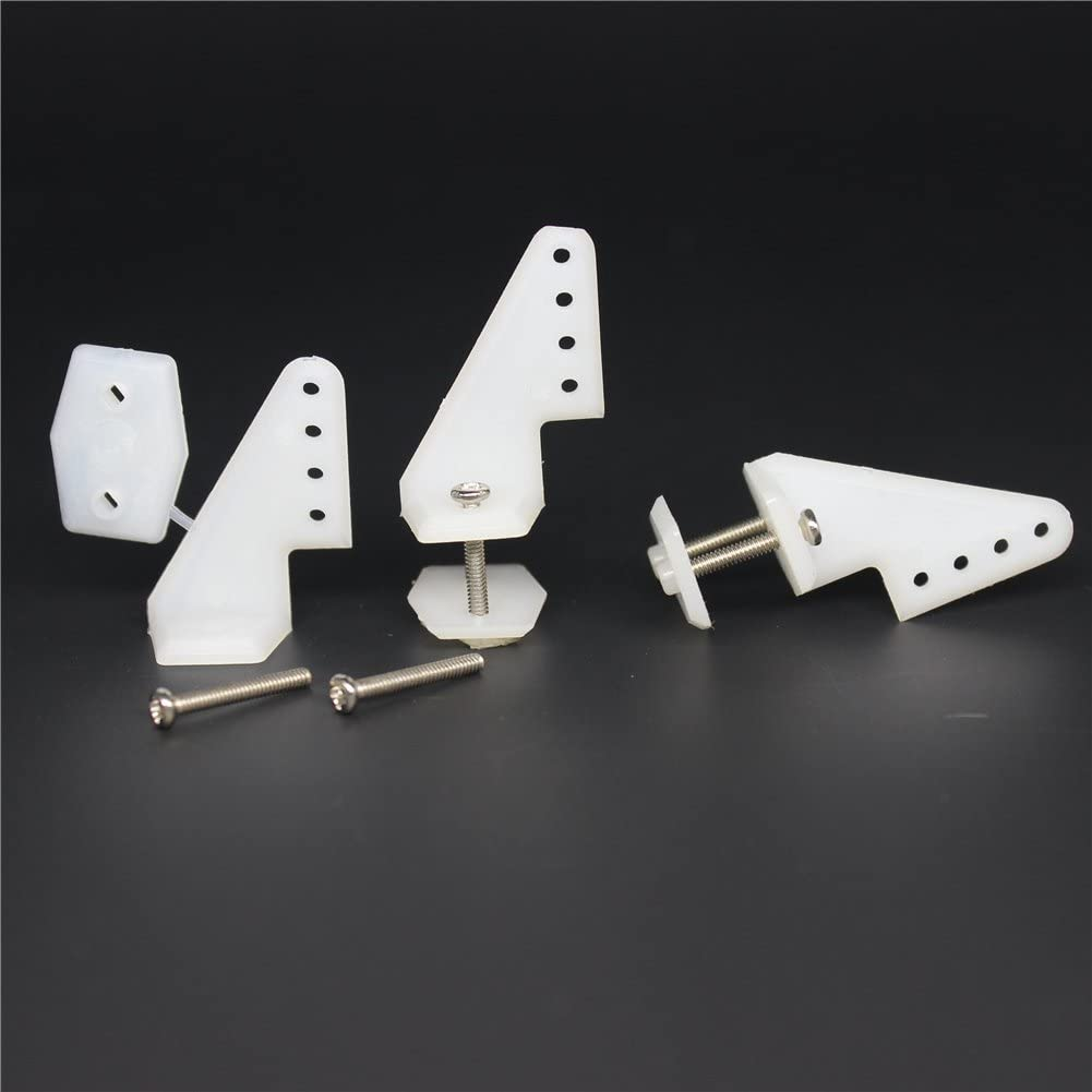 RC Plane Nylon Control Horn 25mm Pack of 10