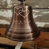 Personalized Anniversary/Wedding Brass Bell