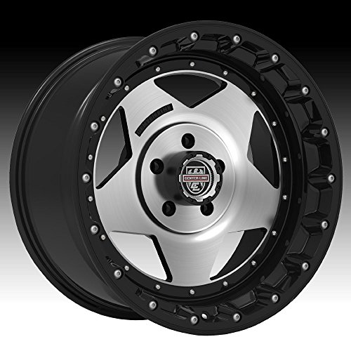 Centerline 832MB RT-1 20×9 5×127 Black Wheel Rim