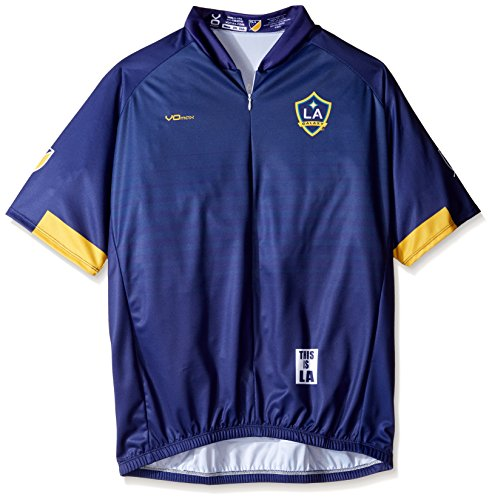 VOmax MLS Los Angeles Galaxy Men s Secondary Short Sleeve Cycling Jersey bcaa2dbf6