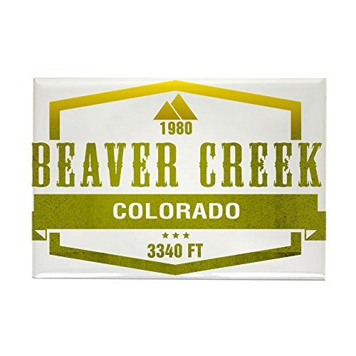 CafePress - Beaver Creek Ski Resort Colorado Magnets - Rectangle Magnet, 2