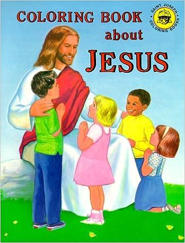 Coloring Book about Jesus: Emma Mckean: 9780899426709: Amazon.com ...