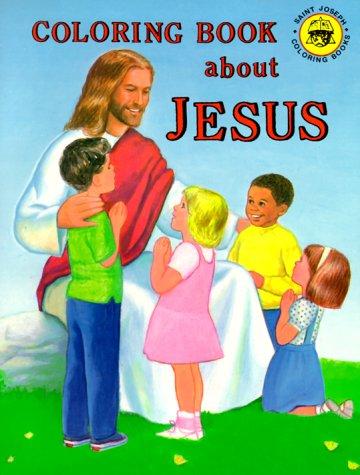 Coloring Book about Jesus - Emma Mckean