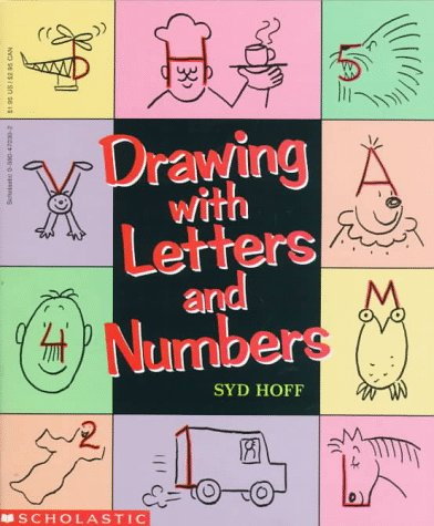 Drawing With Letters and Numbers by Scholastic