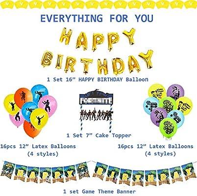 Amazon.com: Suministros de fiesta de cumpleaños para ...