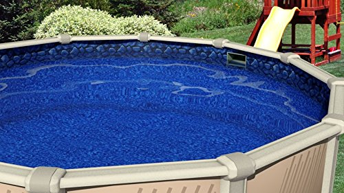 swimline boulder swirl ground swimming pool liner all pools