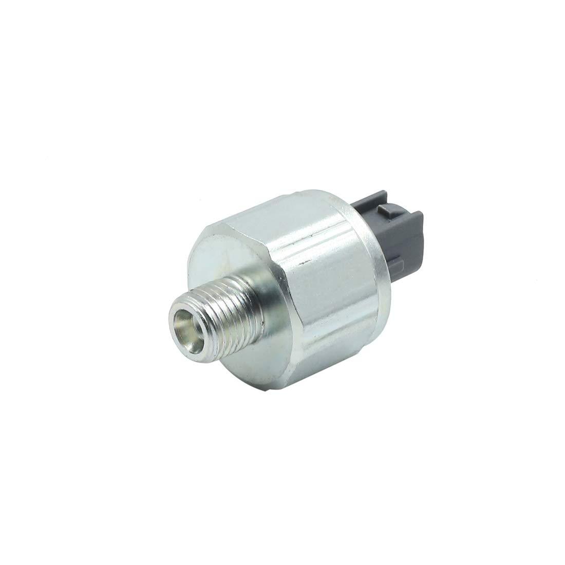 X AUTOHAUX Car 2 Terminals Engine Knock Sensor DC 12V 22060-2Y000 for Nissan Altima 2002-2004
