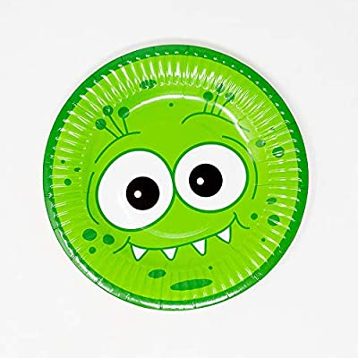 Monster Deluxe Party Packs (70+ Pieces for 16 Guests!), Monster Party Supplies, 1st Birthday Party Supplies, Kids Party Supplies: Health & Personal Care