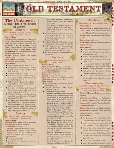 Old Testament (Quick Study Academic)