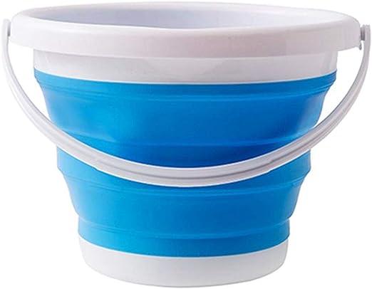 XIFOLDABLE 10L Cubo Plegable De Plástico Plegable De Silicona ...