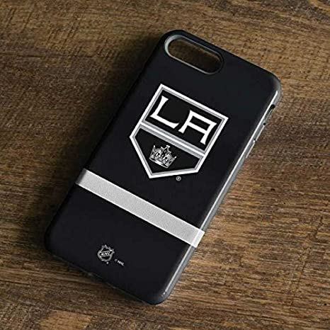 c315baf8c Amazon.com  Skinit NHL Los Angeles Kings iPhone 8 Plus Pro Case - Los  Angeles Kings Jersey Design - High Gloss