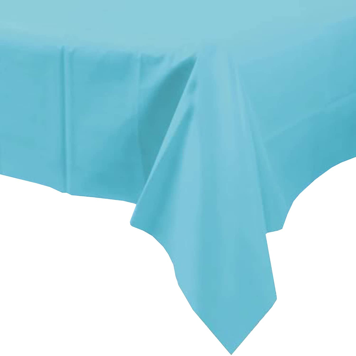 Unique Party 9337792 Table Cover, Baby Blue
